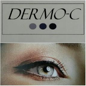 logo DERMO C Maquillage semi  permanent . Microblading